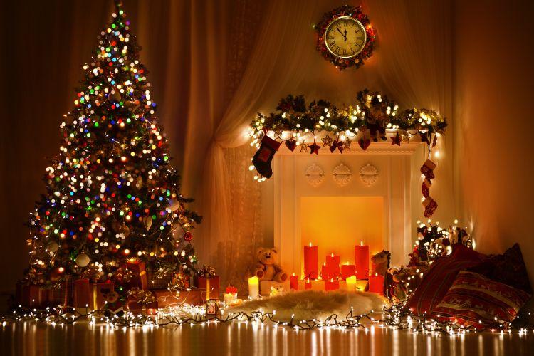 christmas decor ideas string lights