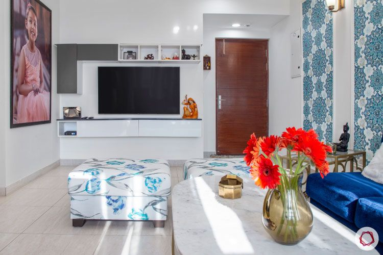 House design photo_living room tv unit
