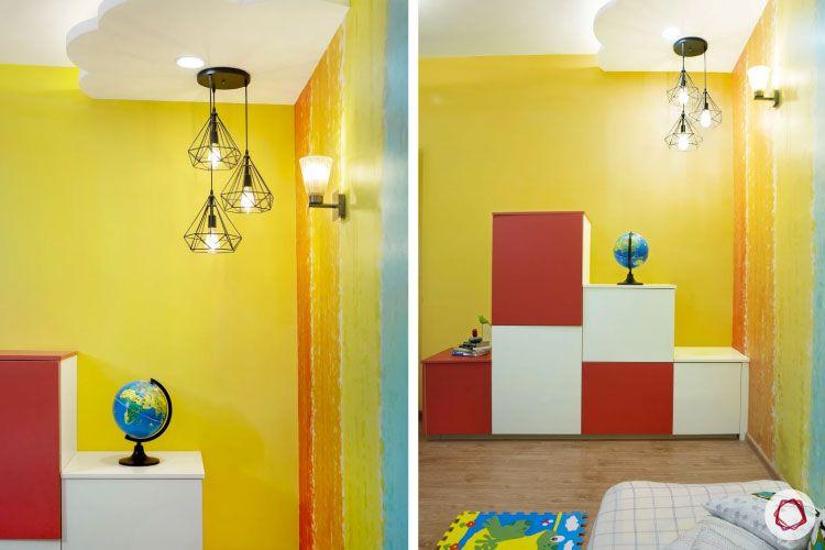 House design photo_kids room storage unit