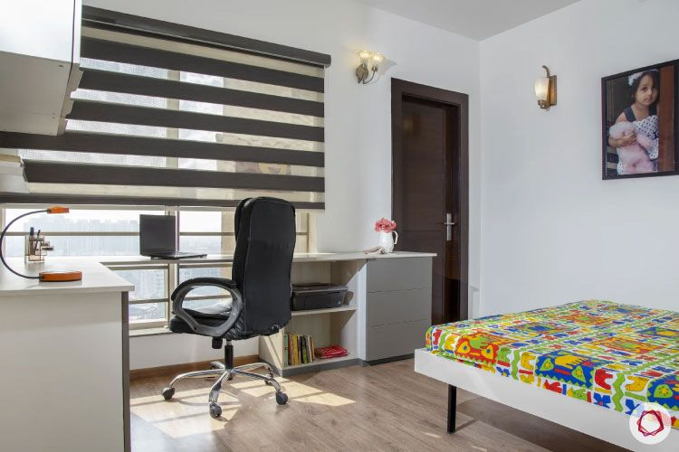 House design photo_guest room full with study