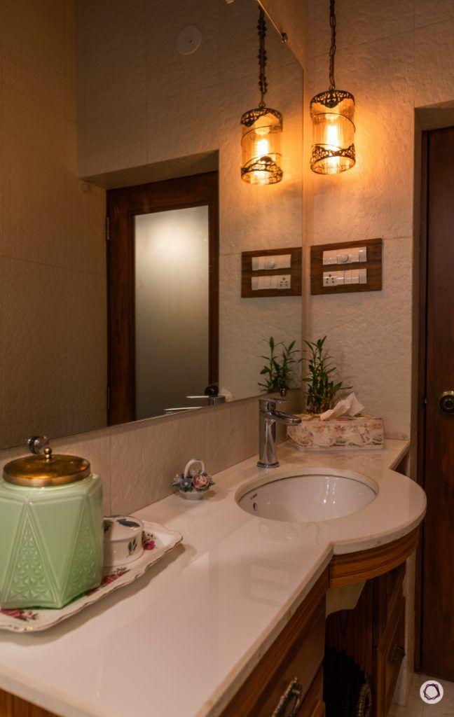 home renovation bathroom counter