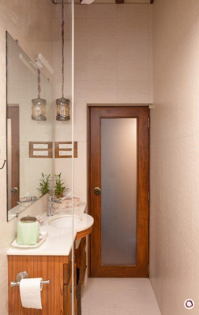 home renovation bathroom door