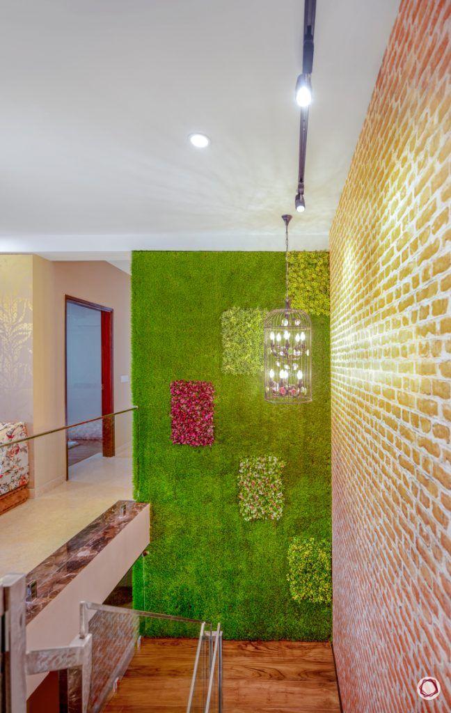 duplex house plans staircase green