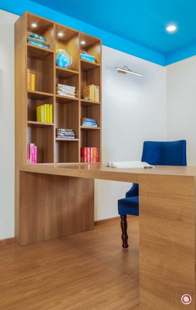 duplex house plans study bookshelf