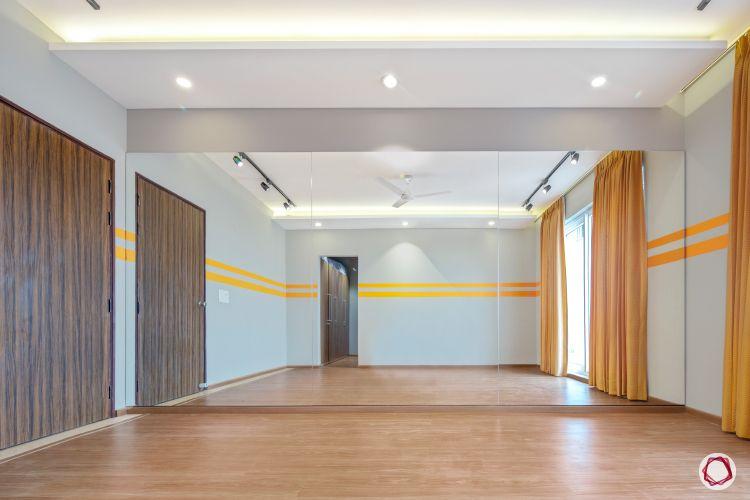 duplex house plans dance studio