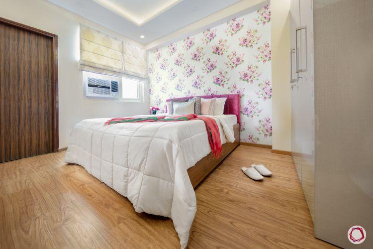 duplex house plans floral bedroom wallpaper