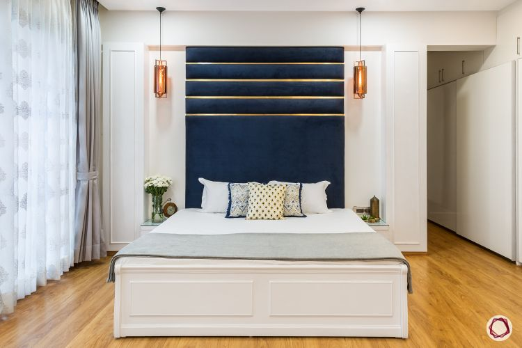 Interior home decoration_headboard