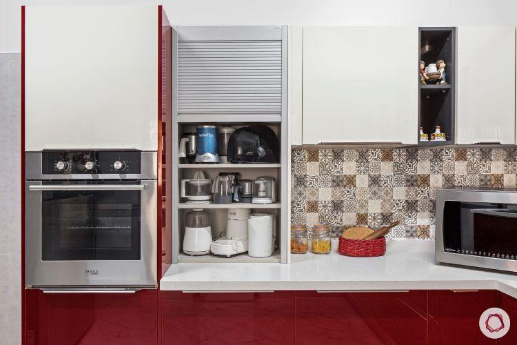 modular kitchen design india electrical appliances