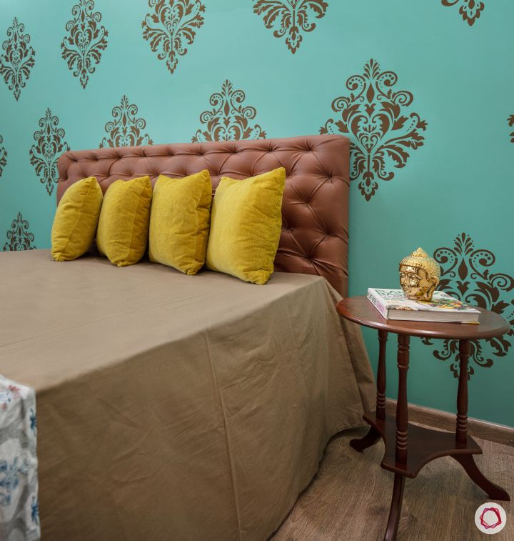 Cleo county home design_mothers room wallpaper