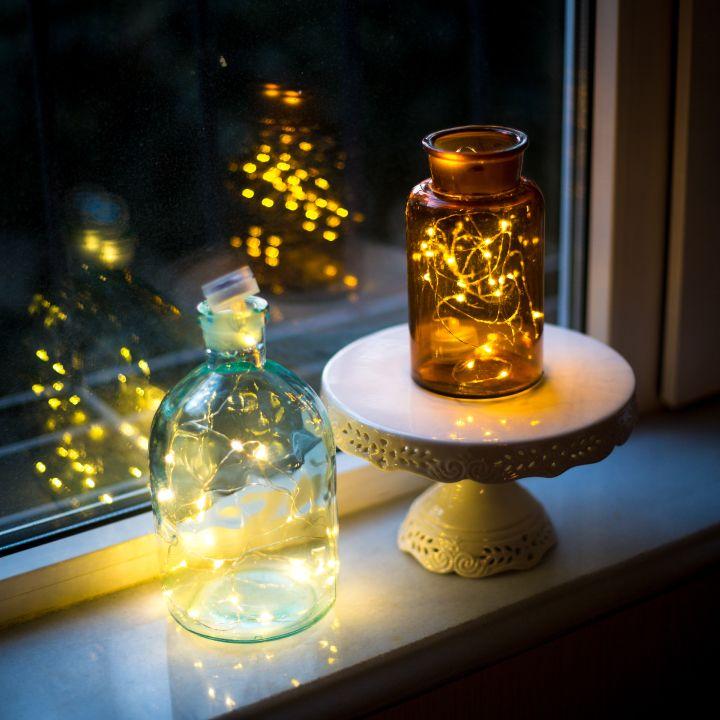 Light decoration ideas_jars
