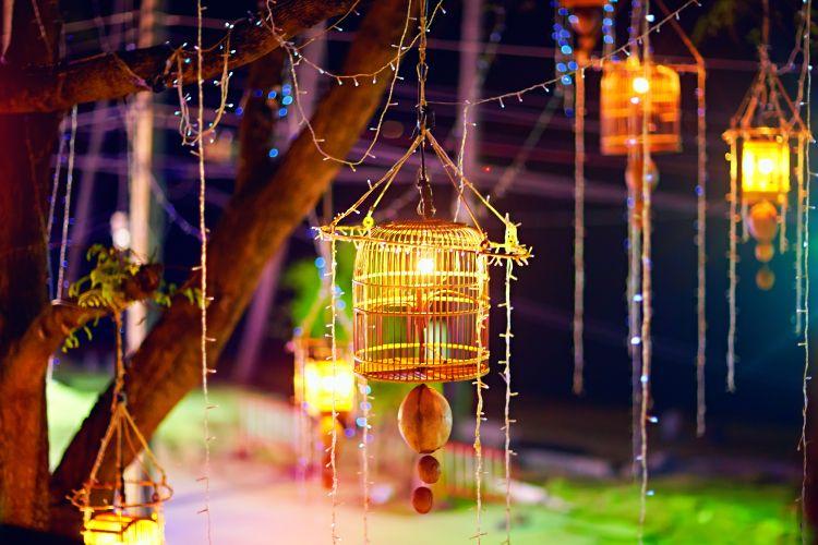 Light decoration ideas_cage
