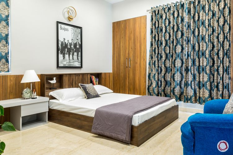 home design plan sons bedroom beatles poster