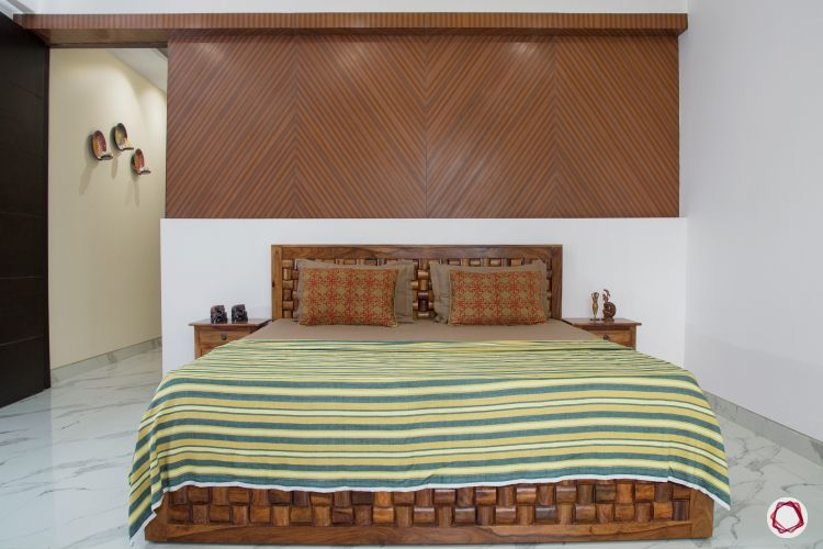 Flats in noida_floral bedroom 1