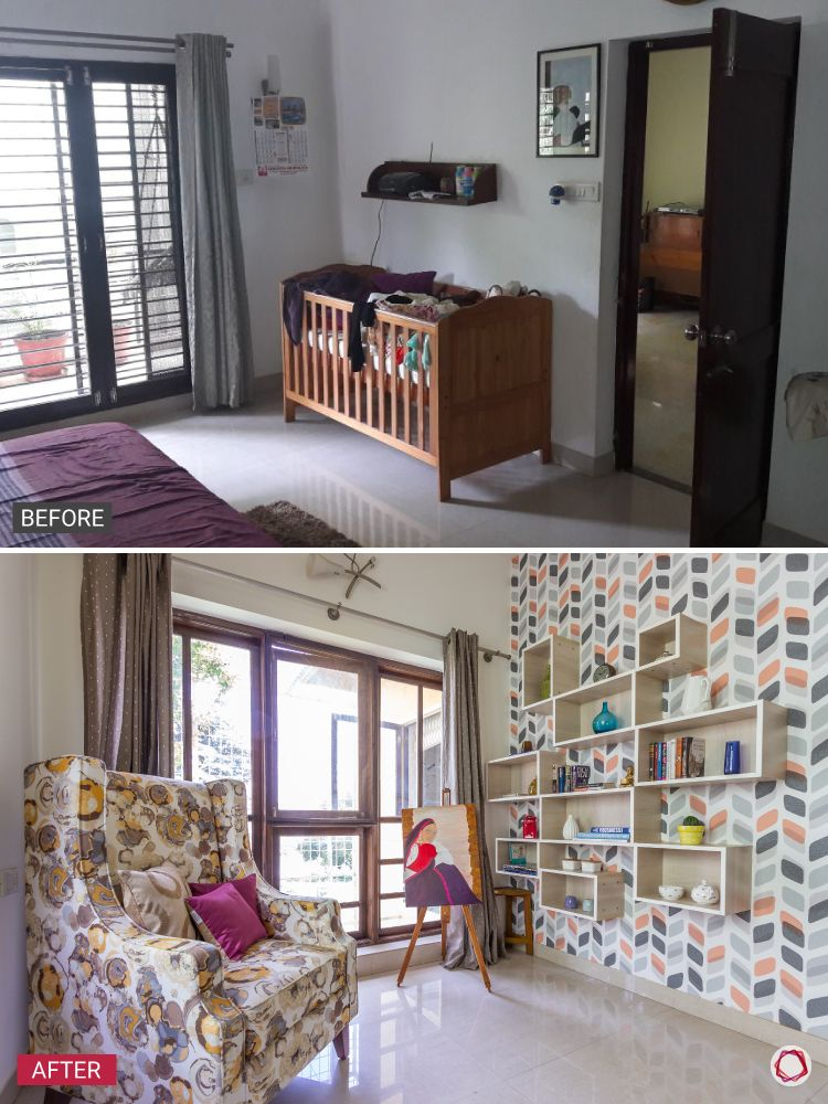 Duplex house_before after 2