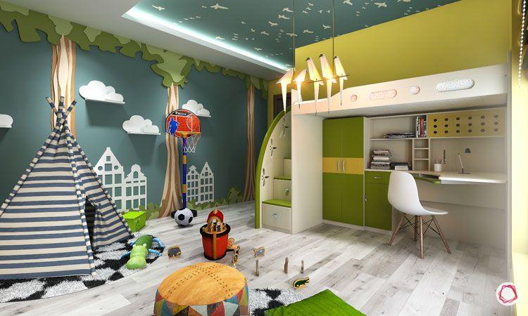 multi-functional living spaces_kids room