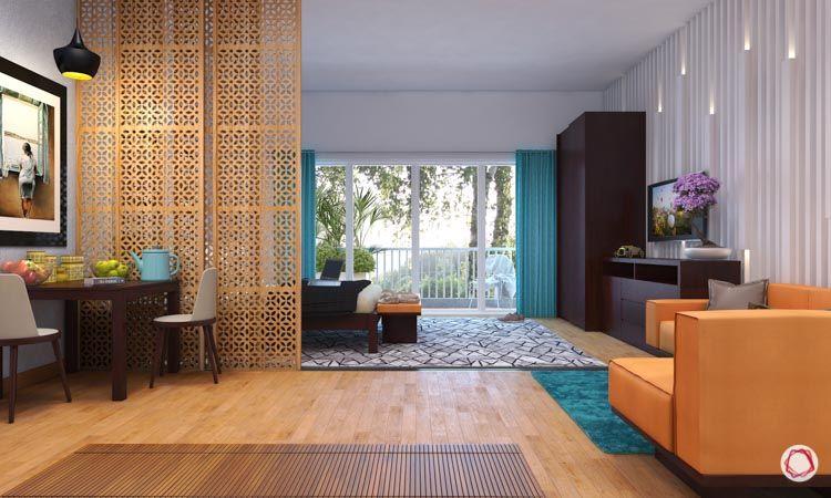Multi-functional living spaces_sliding doors