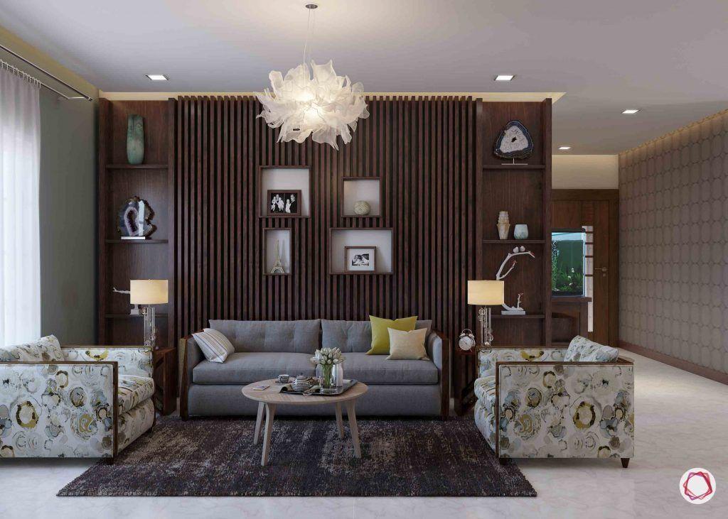 wall shelves for living room wall display brown
