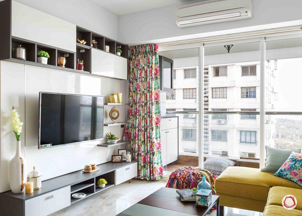 wall shelves for living room TV unit