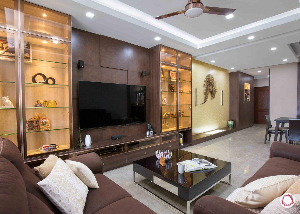 wall shelves for living room wall display TV unit