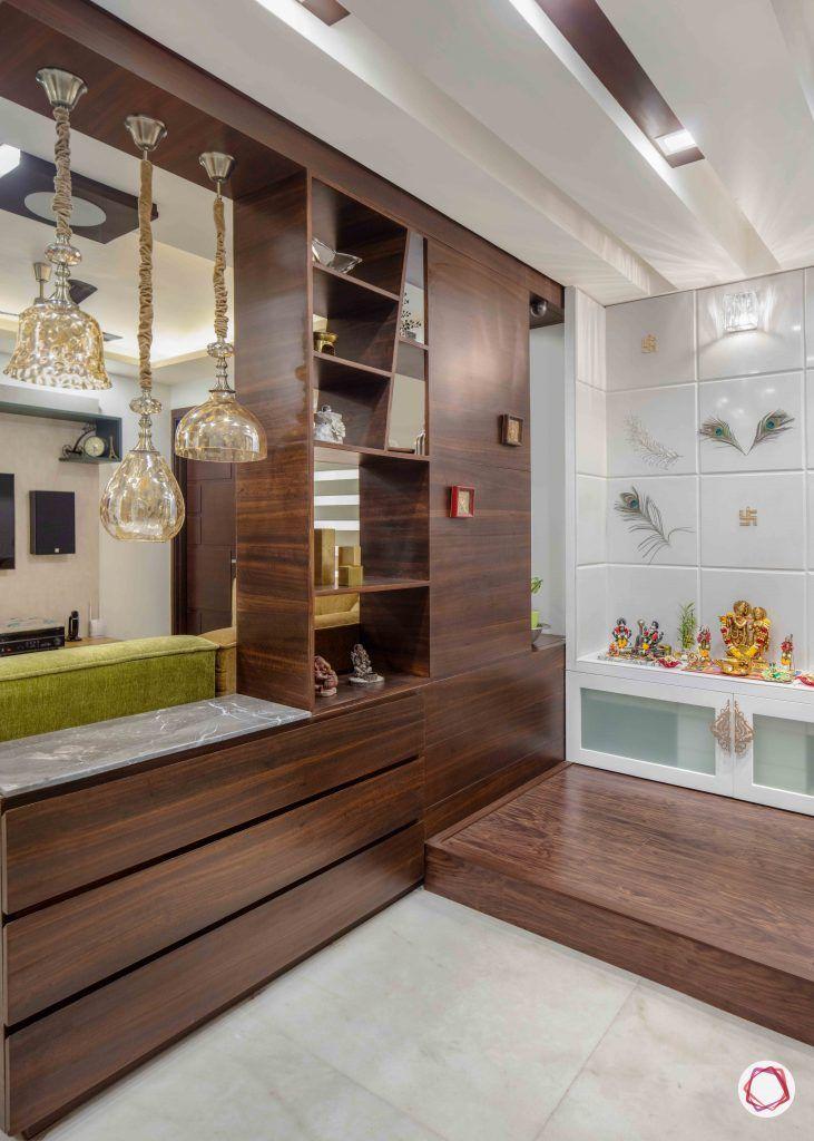 wall shelves for living room brown divider
