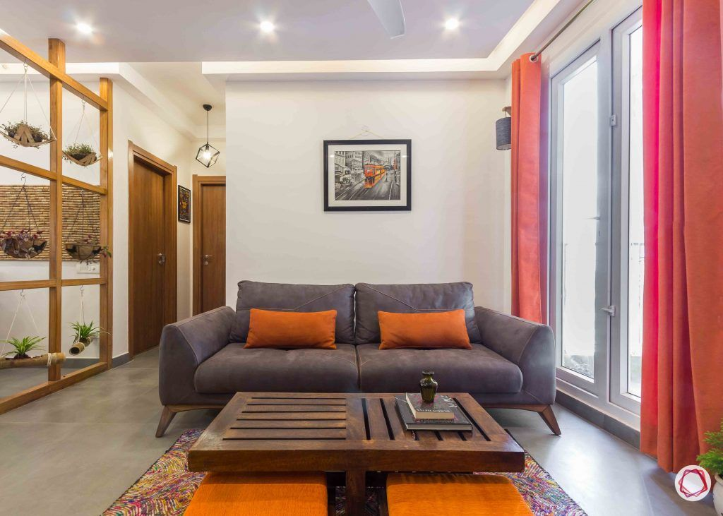 Best interior designers in bangalore_grey-sofa-pillows-table