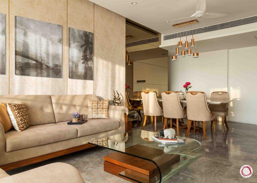 2BHK flat_living room 1