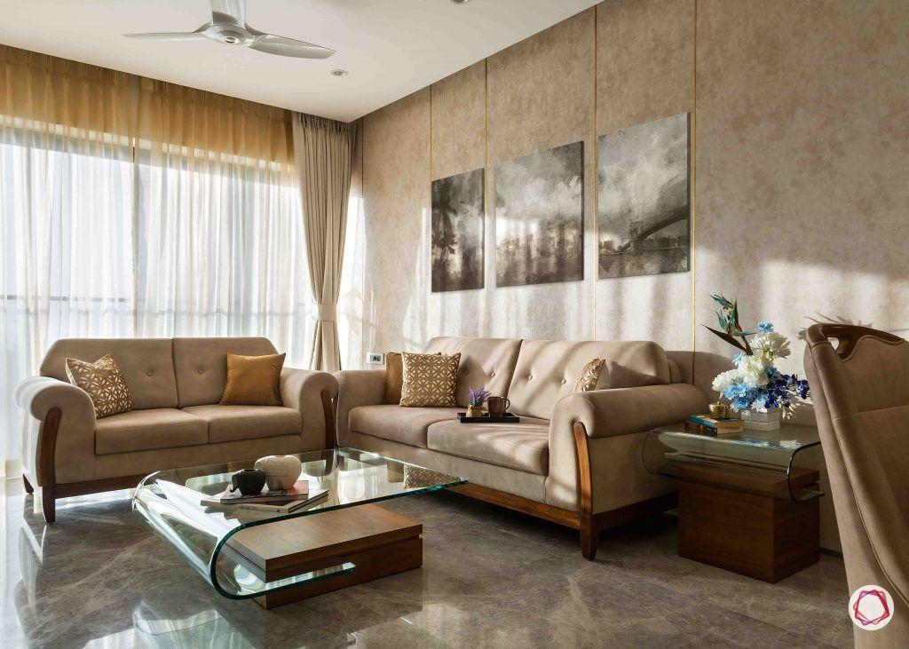2BHK flat_living room 2