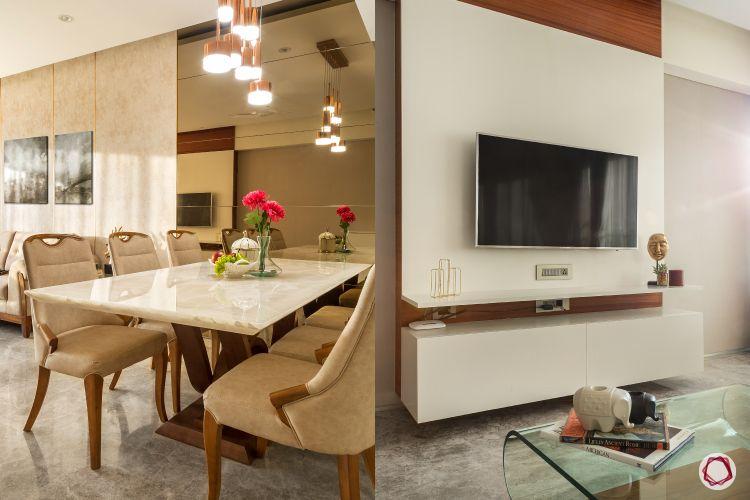 2BHK flat_living room 4