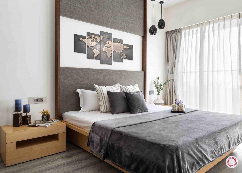 2BHK flat_master bedroom 1