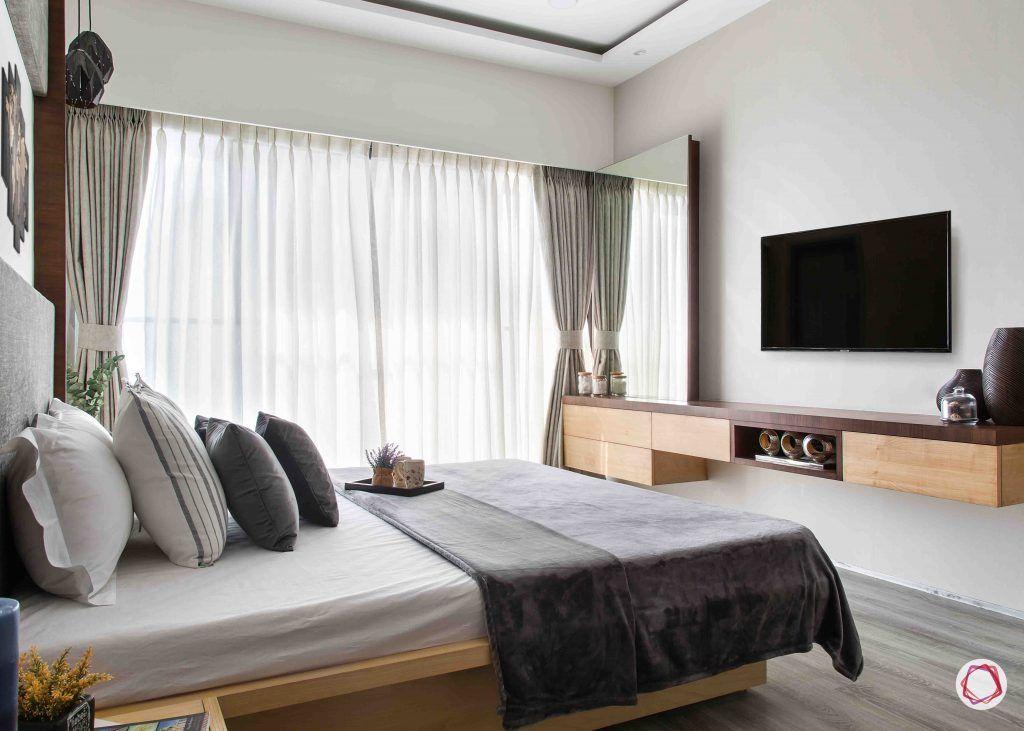 2BHK flat_master bedroom 3