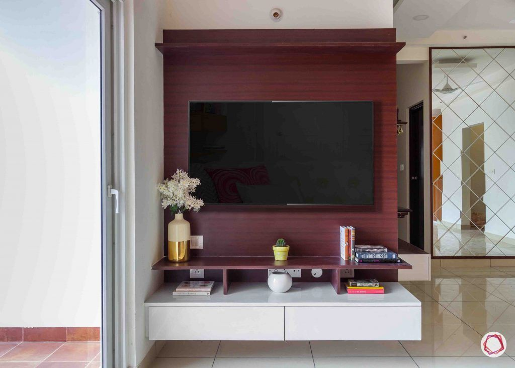 latest house design living room TV unit