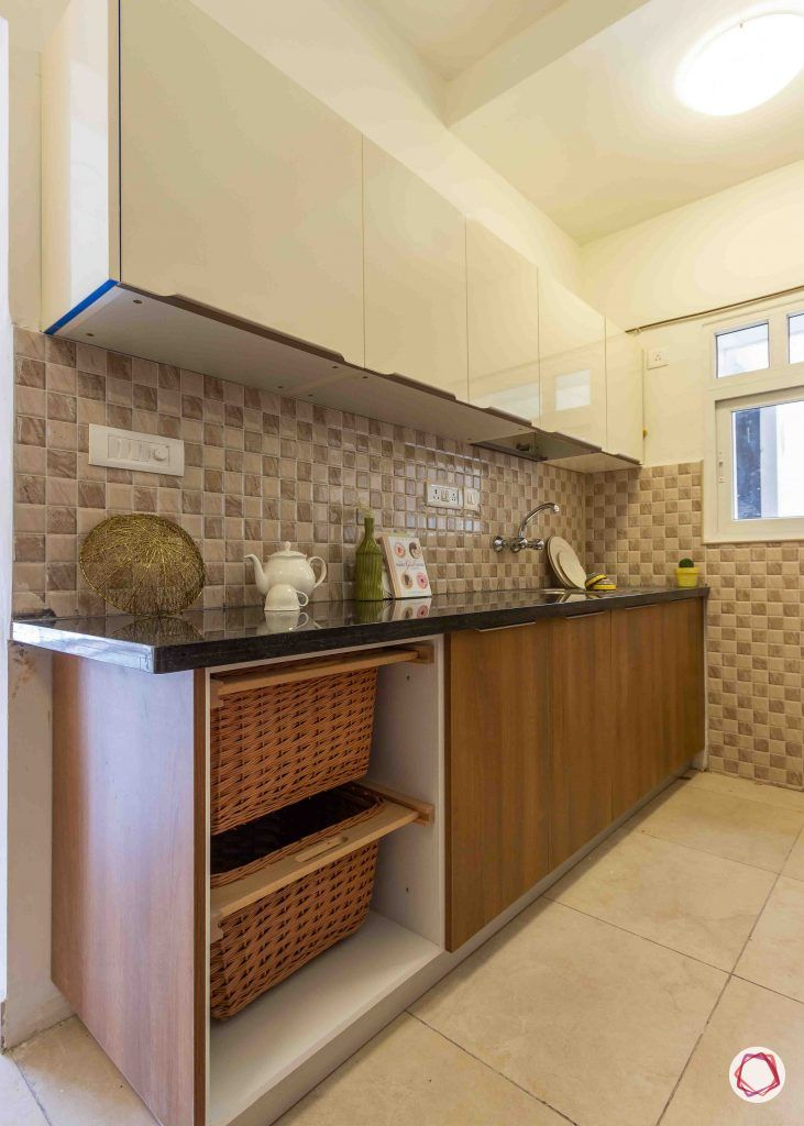 latest house design kitchen wicker baskets