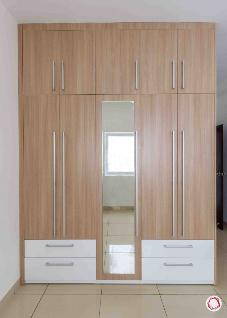 latest house design wooden wardrobe
