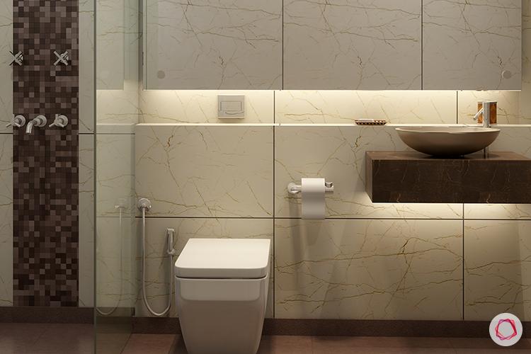 bathroom interiors_profile lighting