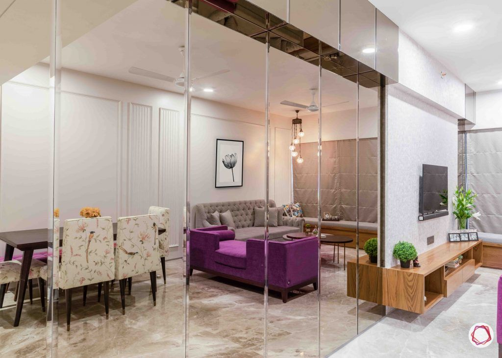 Decorative mirrors_glass walls