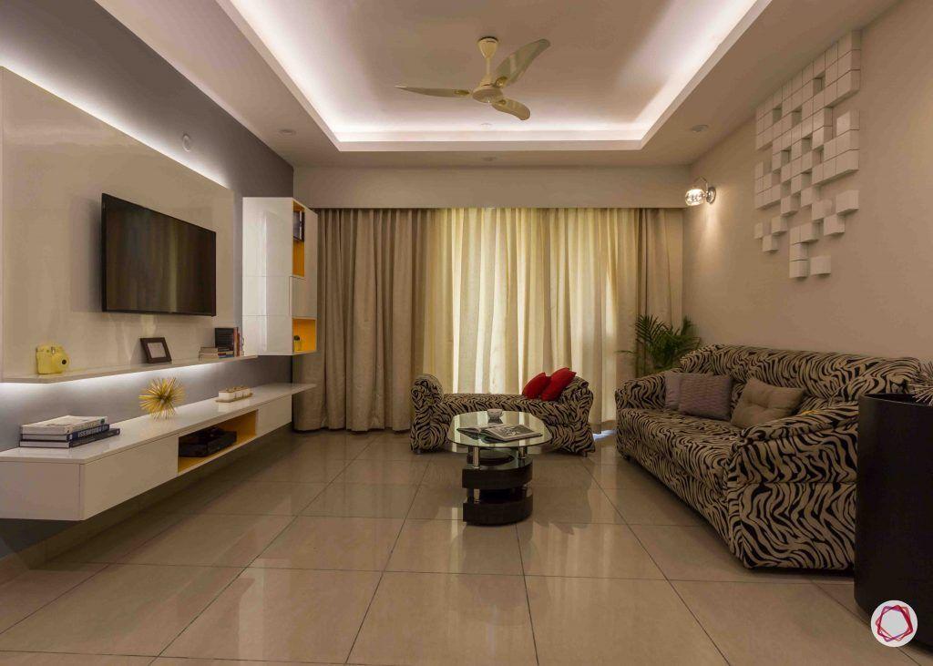 modern house design  living room lights