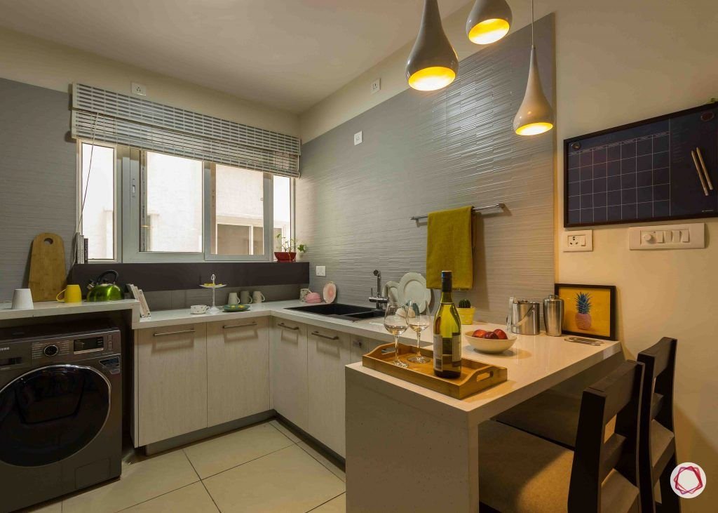modern house design  kitchen breakfast table