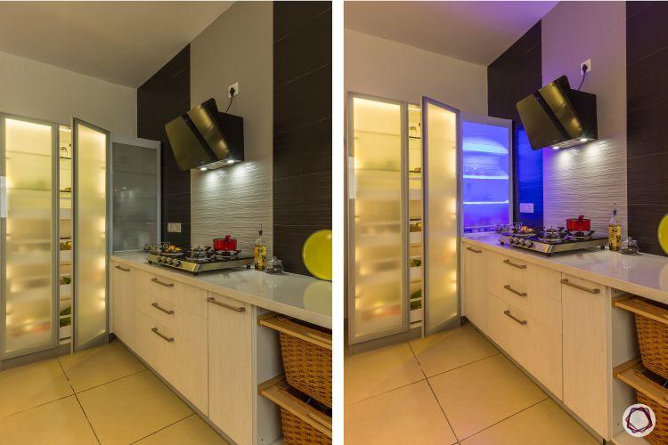 modern house design kitchen tall units