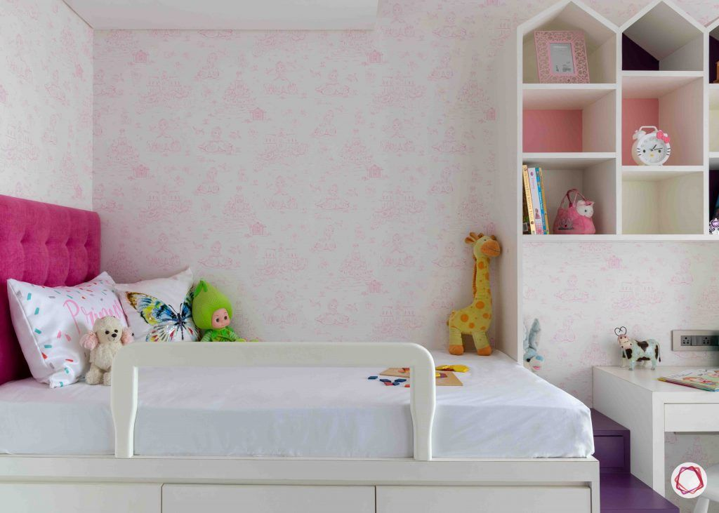 apartment design_castle like unit-pink wallpaper designs