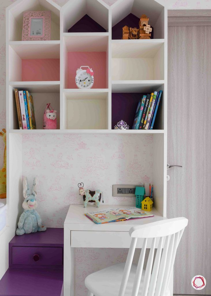 apartment design_purple study unit designs-white book shelf designs