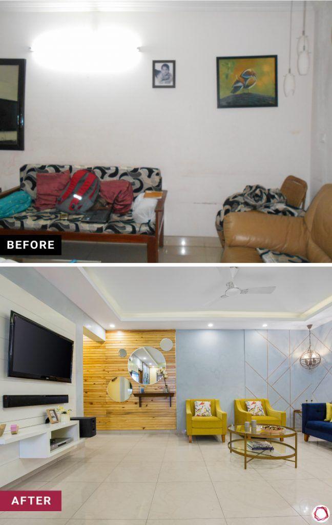 home makeover living room
