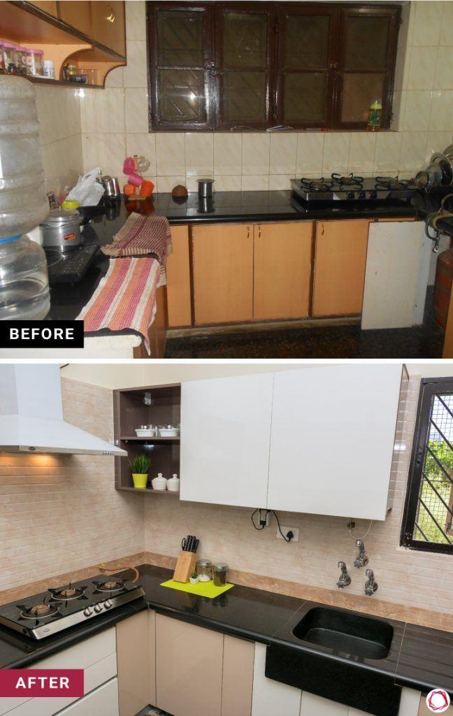 home makeover efficient kitchen