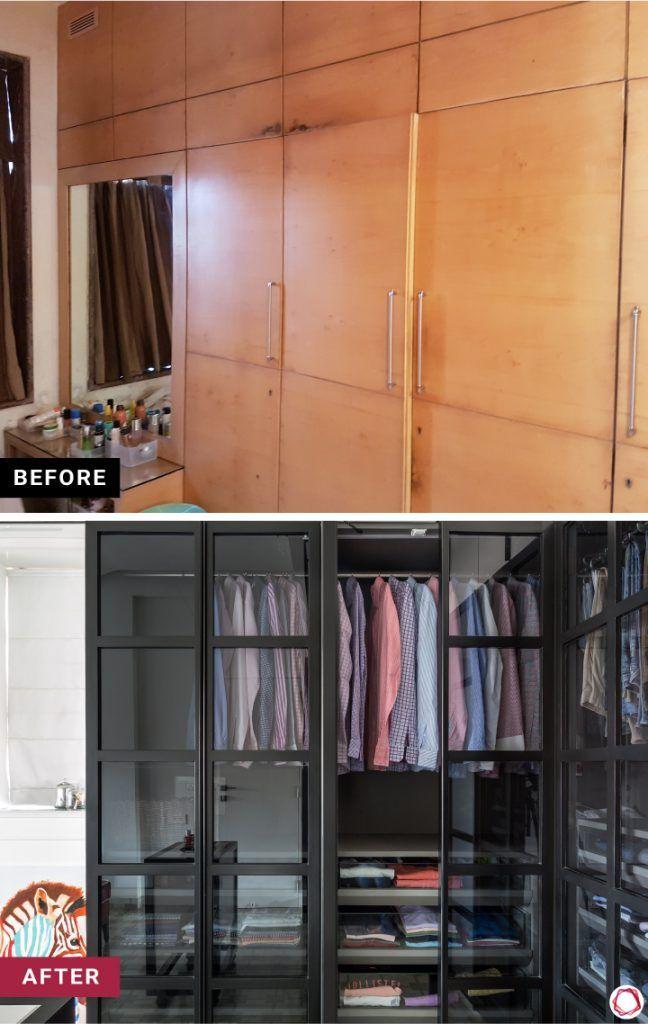 home makeover bedroom wardrobe