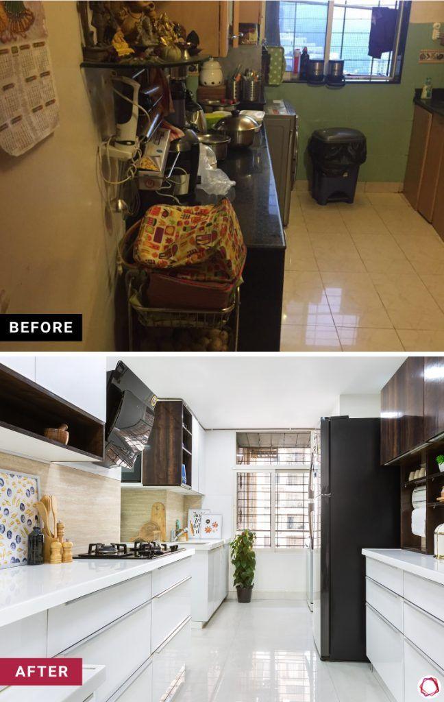 home makeover sleek kitchen