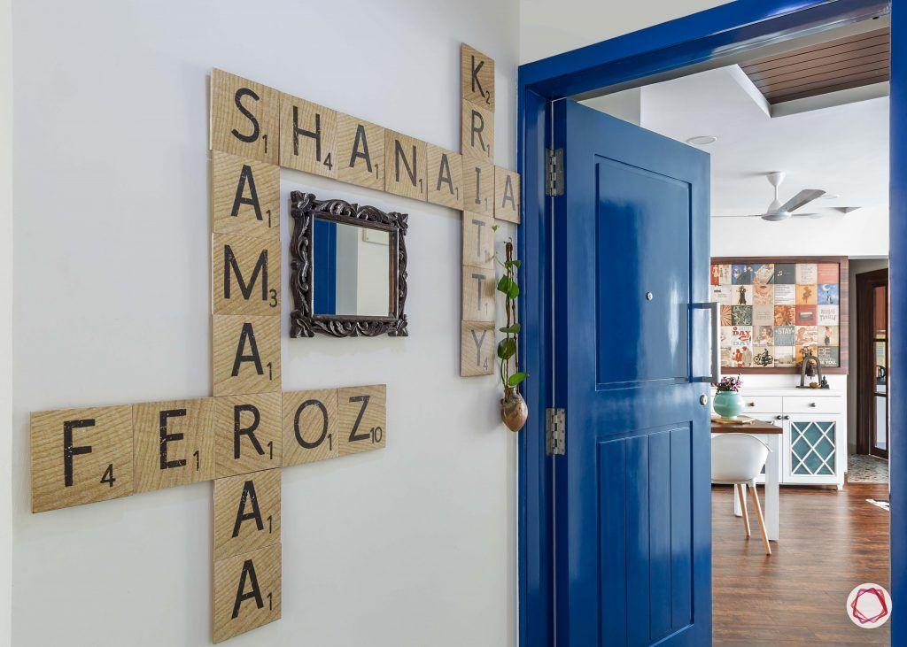 Vastu for entrance_blue door designs