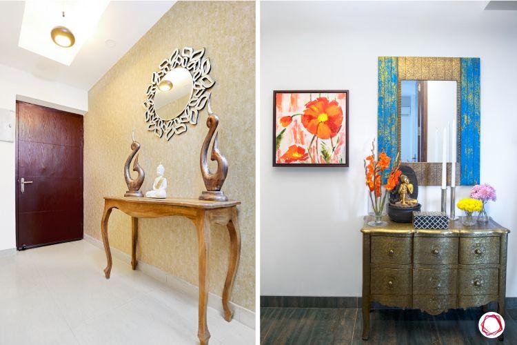 Vastu for entrance_mirrors designs