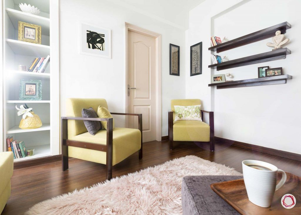 Vastu for home entrance_yellow couch design