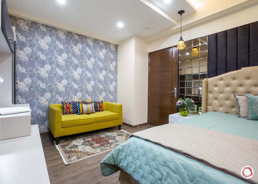 3 bhk flats in noida  master bedroom wallpaper
