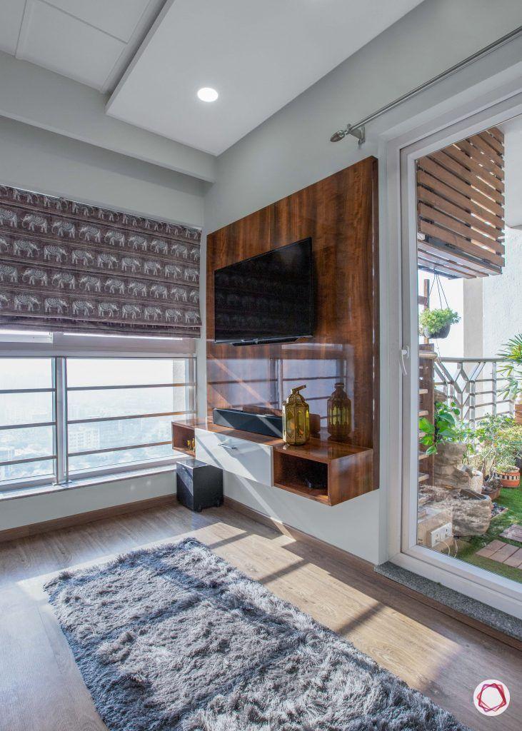 3 bhk flats in noida  guest bedroom TV cabinet