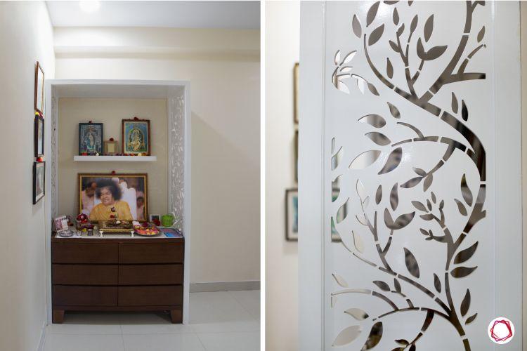 Simple house plans_guest room pooja corner